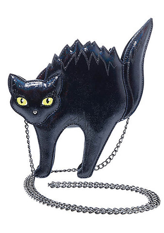 Scaredy Cat Kitsch Crossbody Bag