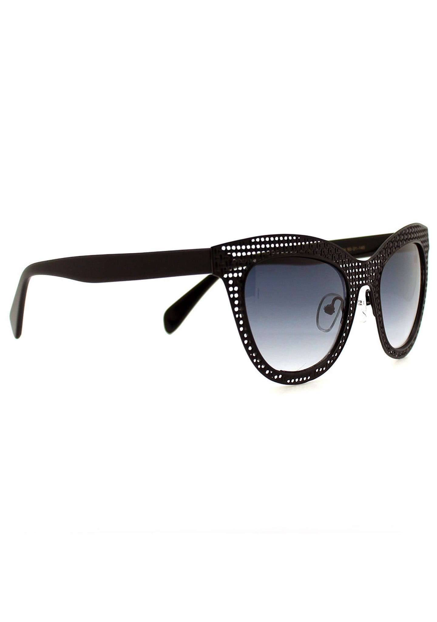 Betsey Johnson Shine Betsey Sunglasses in Black