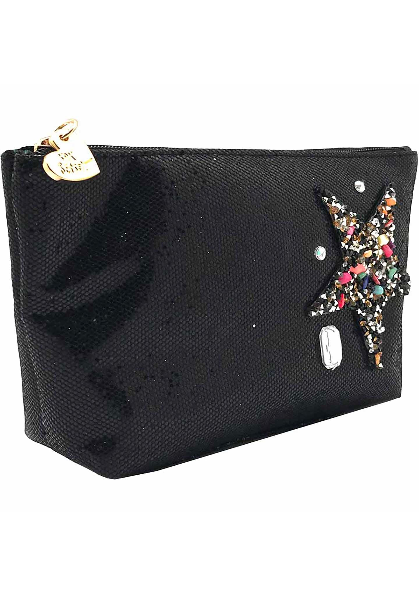 Betsey Johnson Shining Star Cosmetic Bag