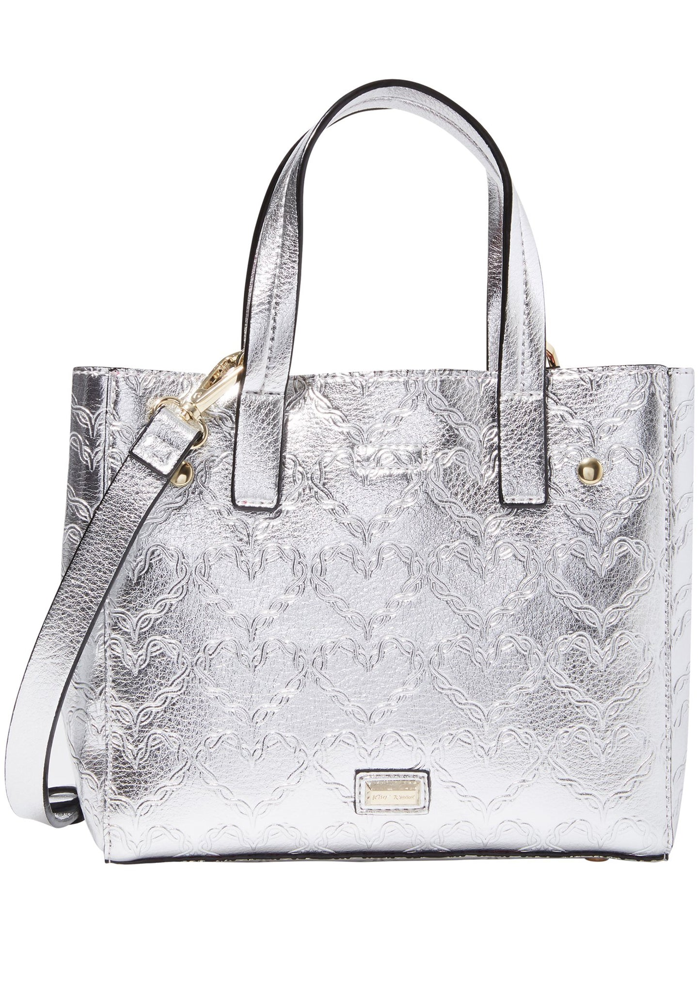 Shop Around the Clock Tote Bag in Silver