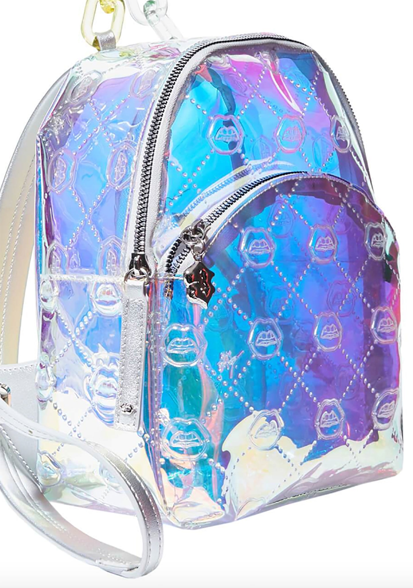 Betsey Johnson The Future is Here Mini Backpack in Clear
