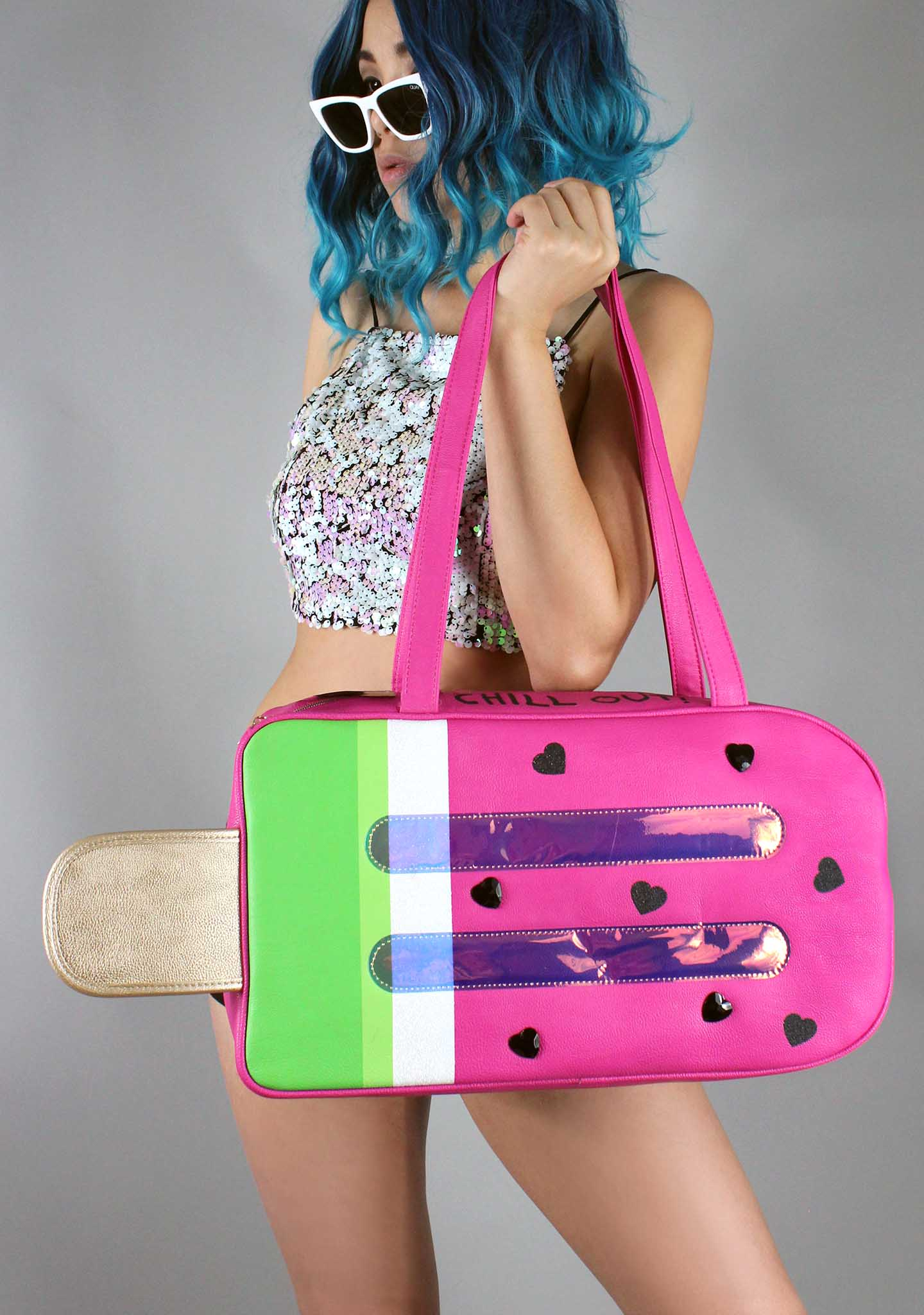 Watermelon Popsicle Cooler Bag