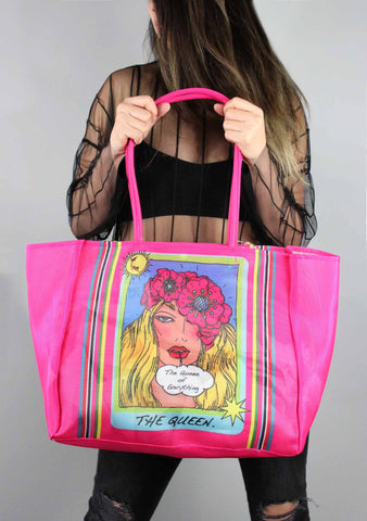 Mystic Betsey Tote Bag in Fuchsia