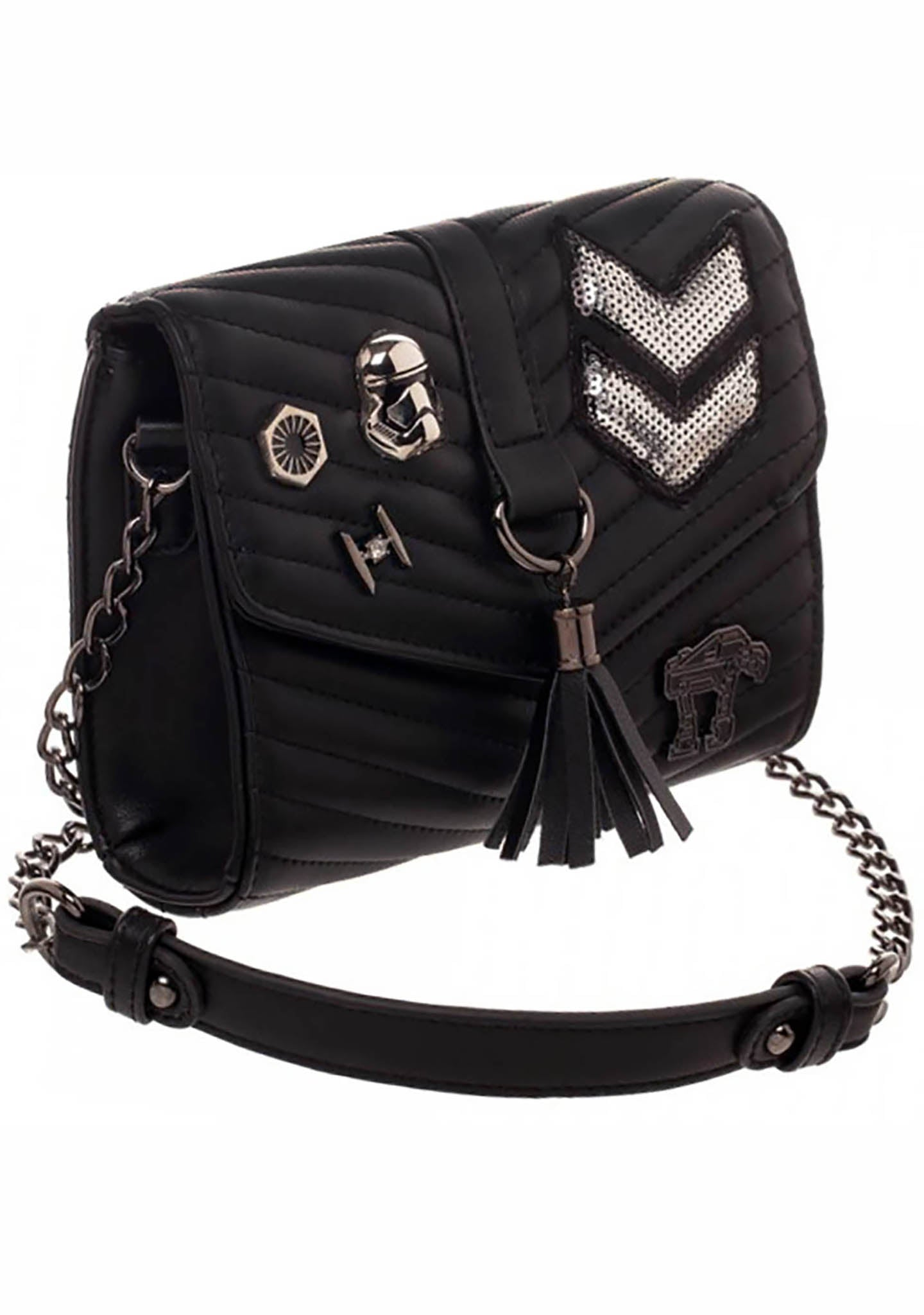 X Star Wars Dark Side Quilted Crossbody Bag