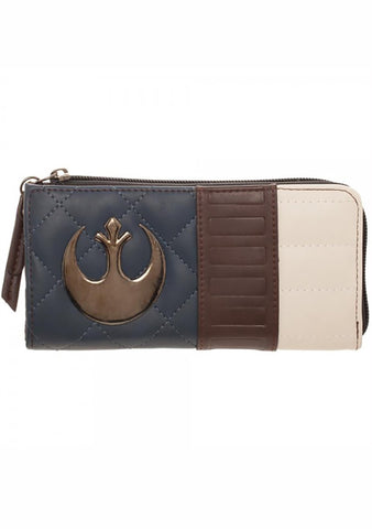 X Star Wars Han Solo Zip Around Wallet