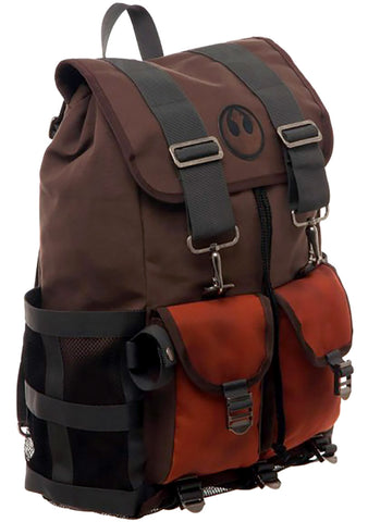 X Star Wars The Last Jedi Luke Rebel Rucksack Backpack