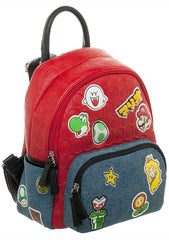 BIOWORLD x Super Mario Brothers Patches Mini Backpack