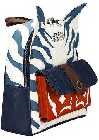 X Star Wars Ahsoka Tano Cosplay Mini Backpack