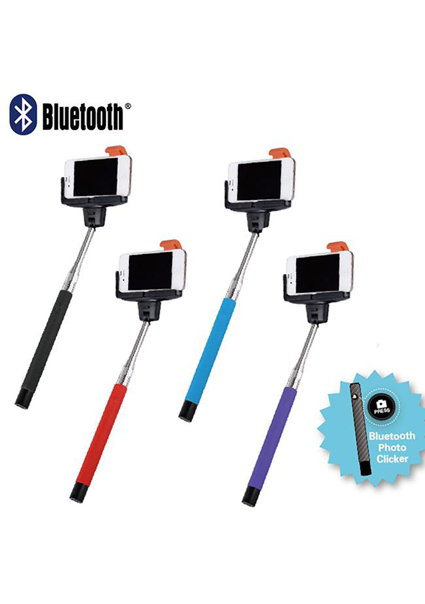 Bluetooth Selfie Sticks