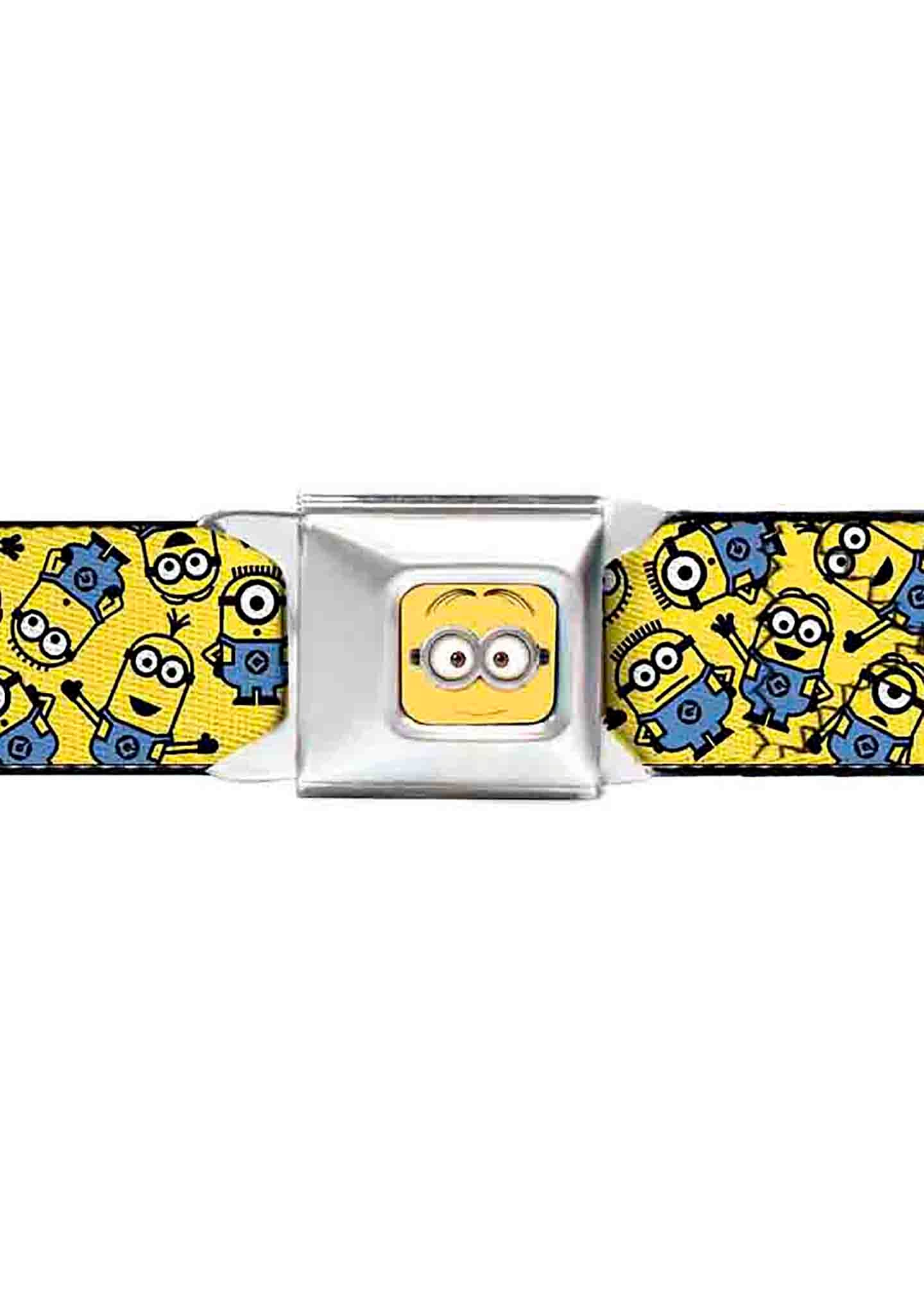 Buckle Down X Minions Scattered Seatbelt Belt