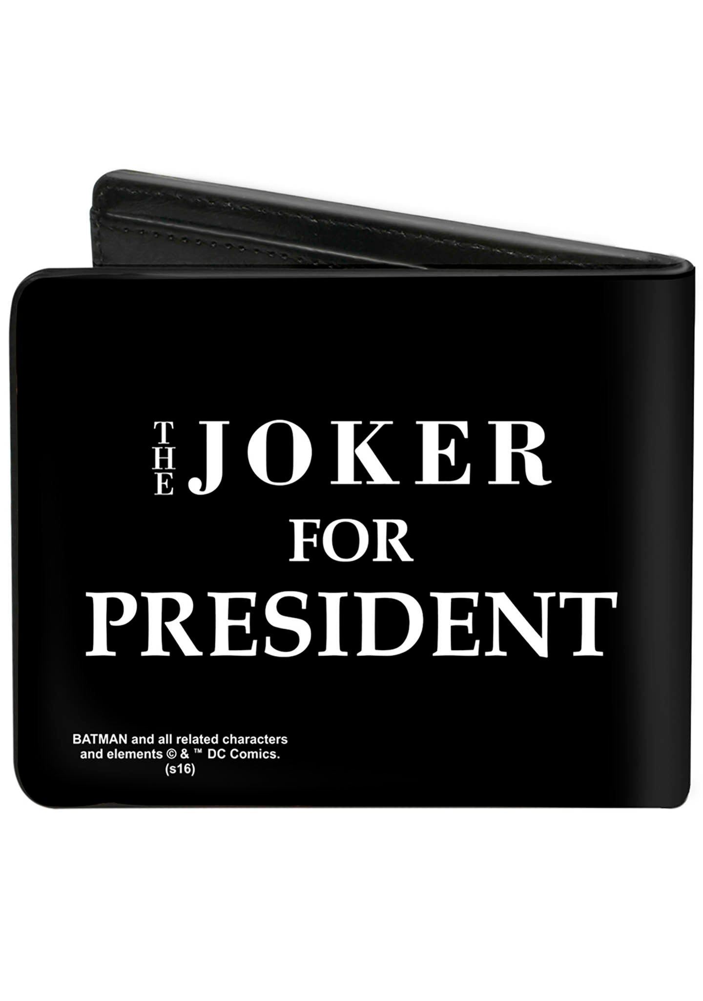 Buckle Down X The Joker For President Bi-Fold Wallet