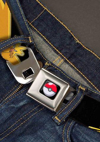 Buckle Down X Zapdos Electric Bolts Seatbelt Belt