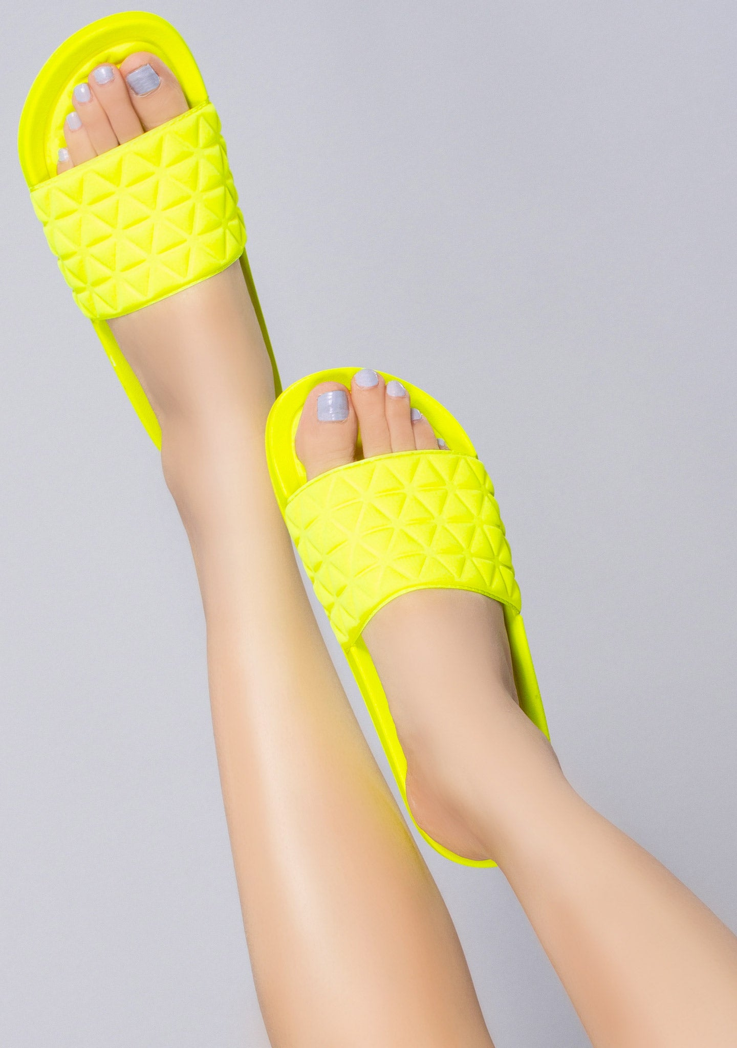 Lemon Drop Geometric Sandal