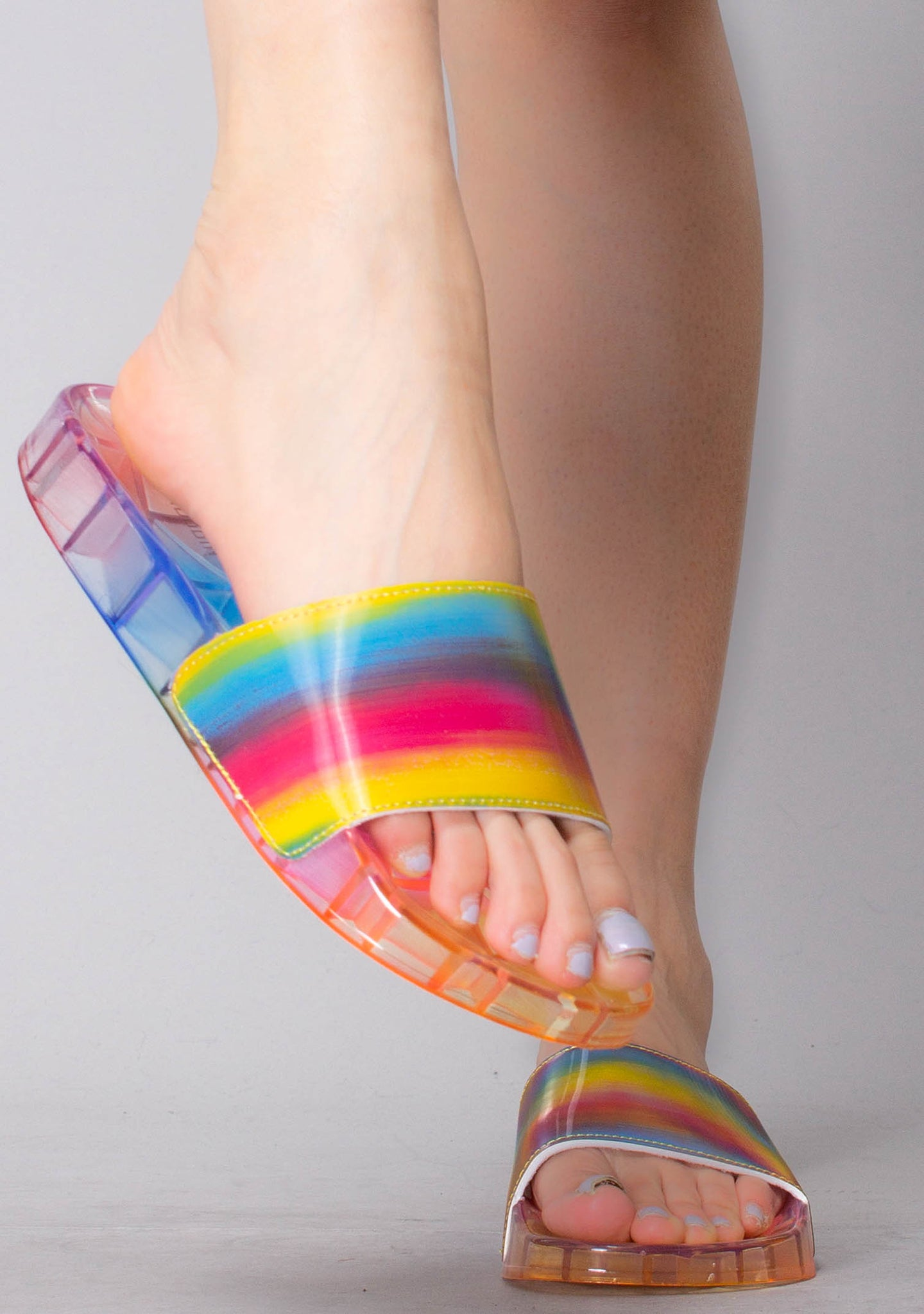 Show Me Love Jelly Sandal