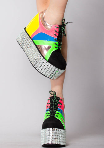 Paparazzi Wedge Platform Sneakers
