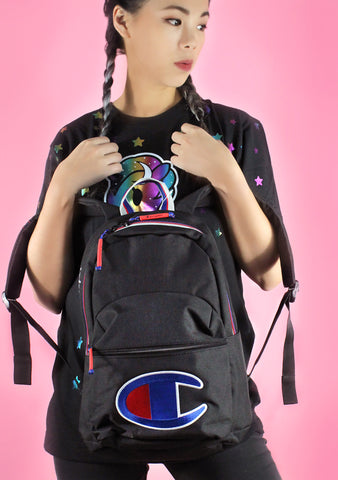 Supercize Mini Backpack in Black