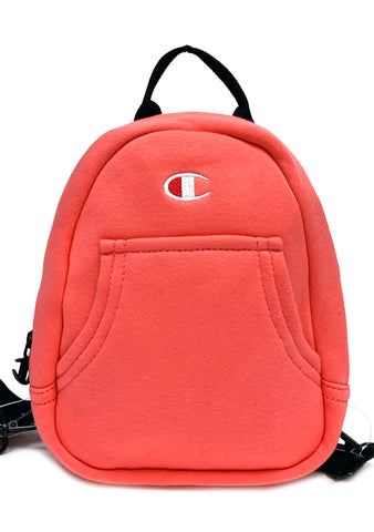 Champion Reverse Weave Mini Convertible Backpack in Coral