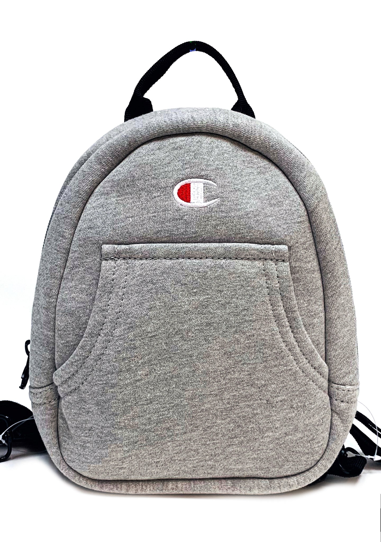 Reverse Weave Mini Convertible Backpack in Med Gray