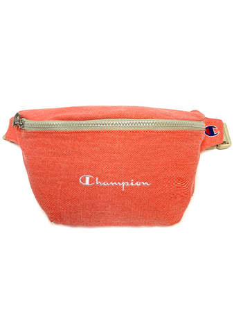 Champion Sun Bleached Fanny Pack in Coral