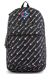 Supercize Logo Script Backpack in Black