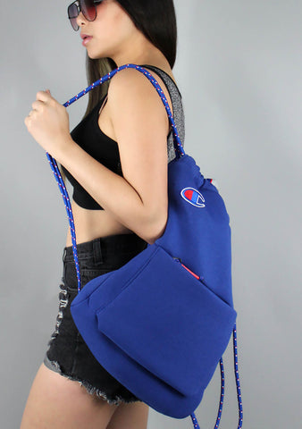 The Attribute Gym Sack in Blue
