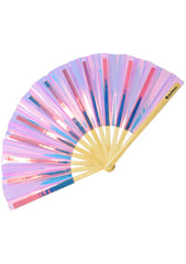Pink Champagne Fluid Fantasy Fan