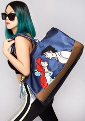 X LASR Exclusive Disney Little Mermaid Kiss the Girl Weekender Bag