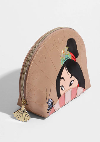 X Disney Mulan Cosmetic Case