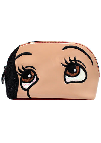 X Disney Snow White Face Cosmetic Case
