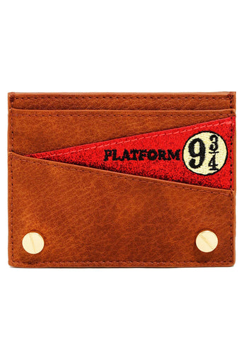 X Harry Potter Platform 9 3/4 Card Holder