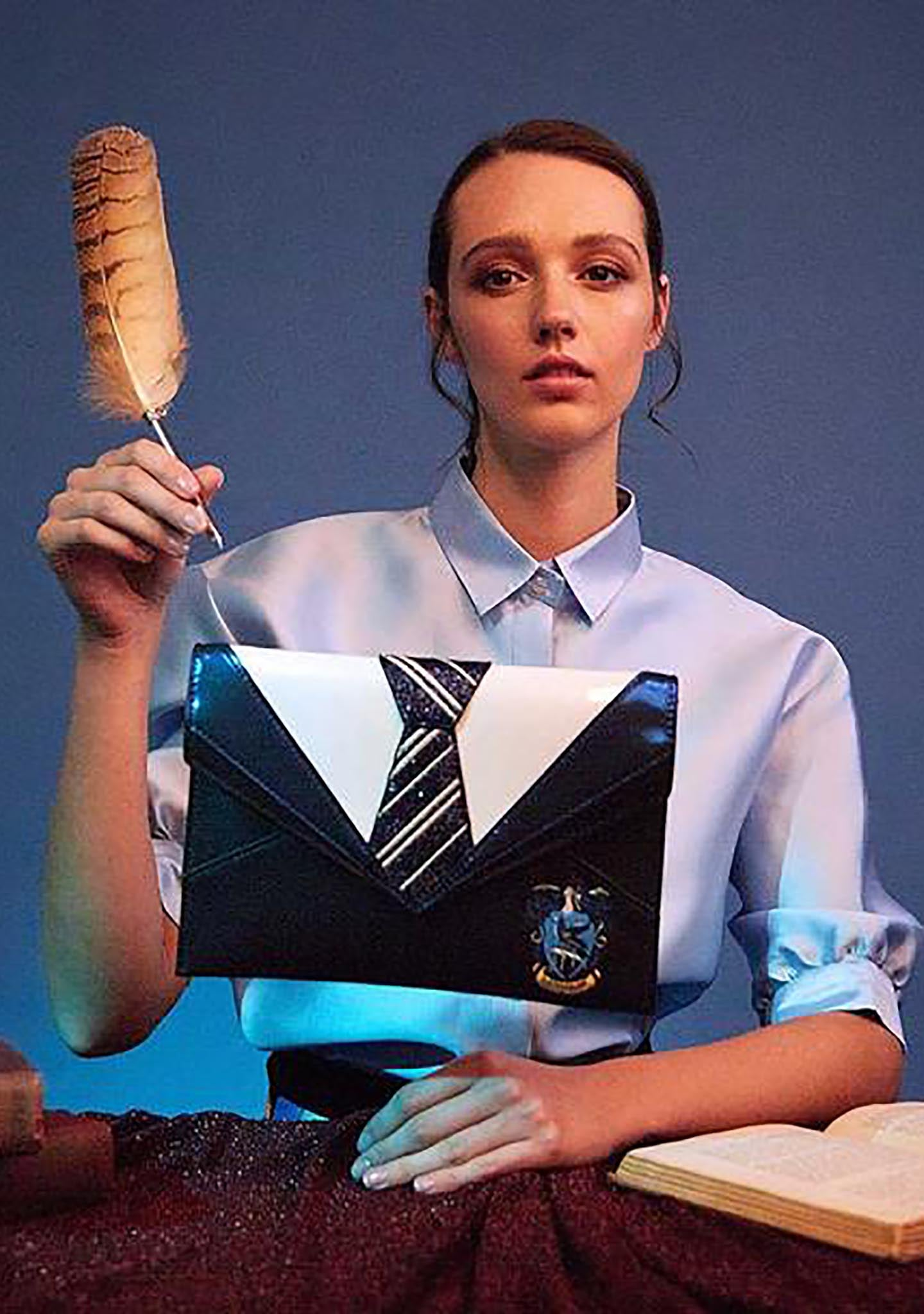 X Harry Potter Ravenclaw Uniform Clutch
