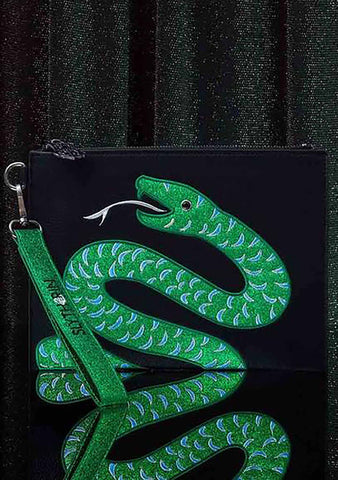Danielle Nicole X Harry Potter Slytherin House Pouch
