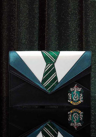X Harry Potter Slytherin Uniform Clutch