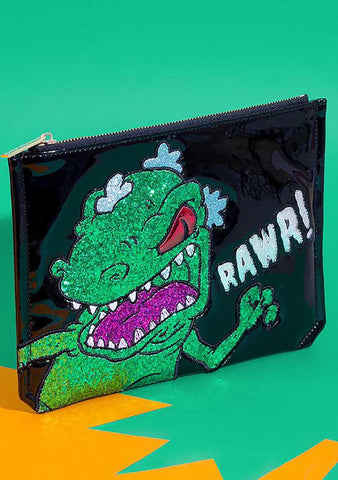 X Rugrats Reptar Pouch