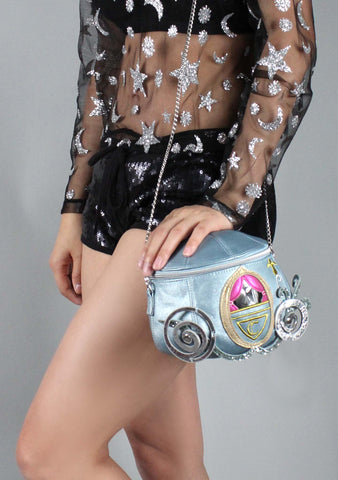 X Disney Cinderella Carriage Crossbody Bag