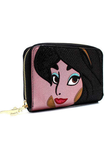 X Disney Jasmine Zip Around Wallet