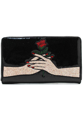 X Disney Sleeping Beauty Zip Around Wallet