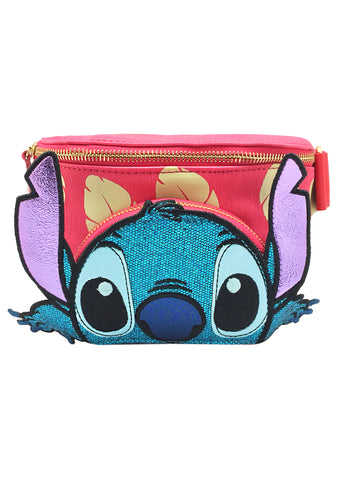 X Disney Stitch Peek-A-Boo Belt Bag