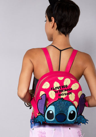 Danielle Nicole X Disney Stitch I Love You to the Moon and Back Backpack