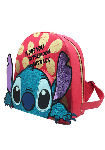 X Disney Stitch I Love You to the Moon and Back Backpack