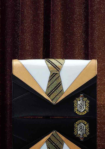 X Harry Potter Hufflepuff Uniform Clutch Bag
