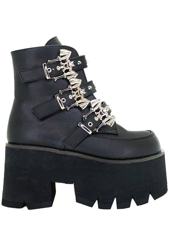 Bat Out of Hell Platform Boots