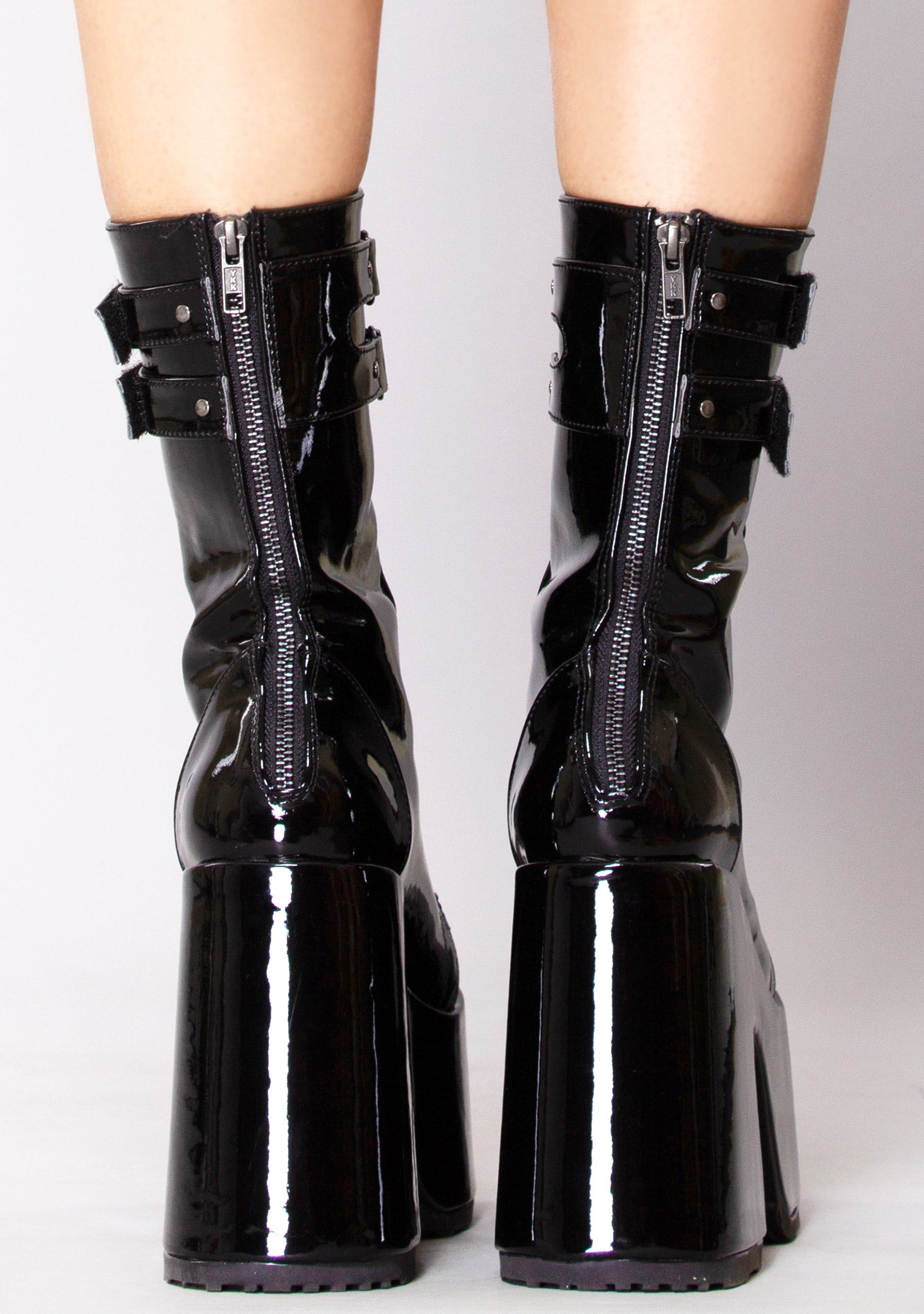 Hollywood Hellraiser Platform Boots