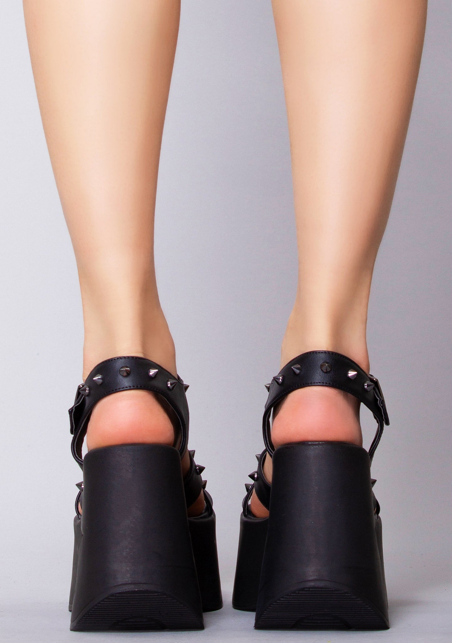 Black Star Platform Wedges