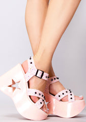 Kawaii Rebel Platform Wedges