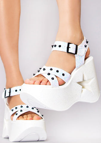 Starry Dancer Platform Wedges