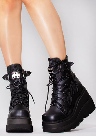 Headhunter Platform Boots