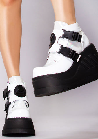 Cyber Psychosis Platform Boots