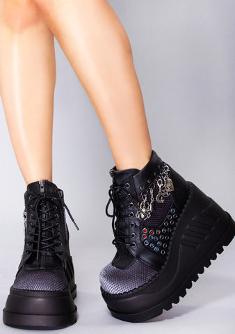 Voodoo Child Platform Boots