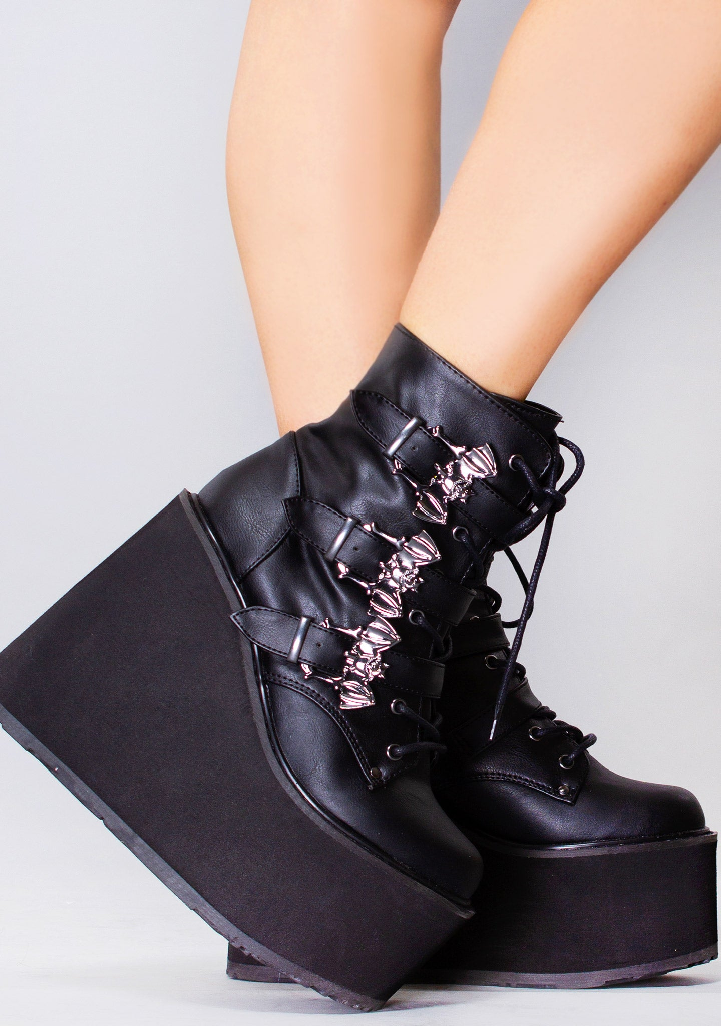 Creature of the Night Platform Boots